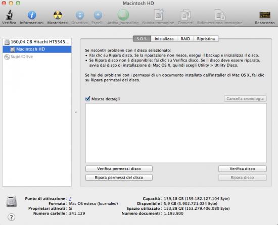 Come Formattare e Partizionare Mac OS X