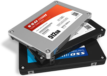 SSD più piccole sono più lente, perchè?